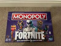 Fortnite Monopoly Board Game - Brand new
