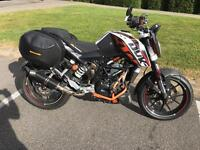 KTM DUKE 390 with £2500 worth EXTRAS!!