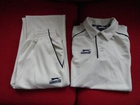 Cricket shirt and trousers - boys 11-13 years.
