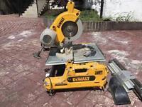 Dewalt flip over Chop saw / Mitre saw