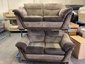 HARVEYS FABRIC SOFA SET + SOFA BED IN NICE CONDITION 2+2 seater