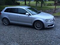 Audi A3 2.0 litre tdi s-line automatic for sale