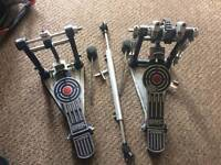 Sonor Giant Step double bass drum pedal
