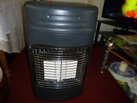 Heater plus full gas bottle