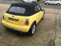 Mini 1.6 softop, convertable 1years MOT lots spent with receipt