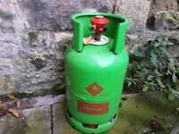 Propane canister 12kg full with regulator