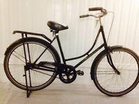 Classic Dutch City Bike OMAFIETS , kick Stand, Rack, Full mudguards