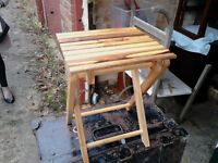 folding table /childs seat
