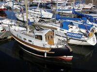 Reduced Price Fisher Freeward 30' in use and ready to sail lying NE Scotland