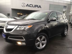 2013 Acura MDX BASE | LEATHER | 1OWNER | 7PASS | 300HP | SUNROOF