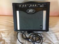 Peavey Rage 258 25w Transtube Guitar Amp + Guitar Lead