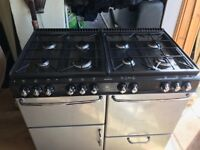 Cooker Range Cooker LPG Gas Hob and Electric Oven/Grill
