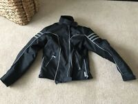 Ladies motorbike jacket and ixon trousers