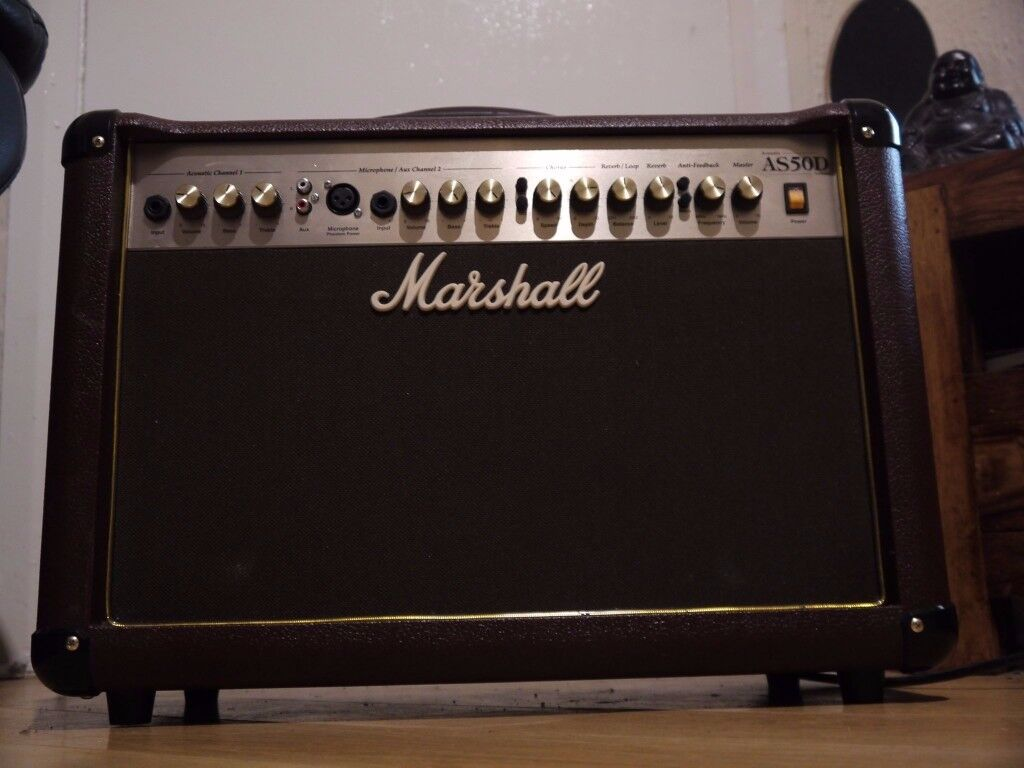 MARSHALL AS50D 50W 2 chanel acoustic and vocal amplifier