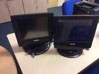 2 Epson DM-M820-024 S1201D POS Monitors - MUST GO