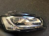Genuine Audi S5/a5 2011 blo xenon driver-side headlight 8t0941004al