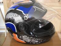 Kiwi Motorbike Helmet.