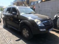 SSANGYONG REXTON, RX270, 2.7, 2006 BREAKING FOR SPARES
