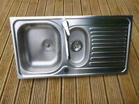 Blanco Stainless Steel Sink + Tap-Used