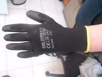 black medium but fits like large safety gloves gardening bricky scaffolding brand new hsl direct