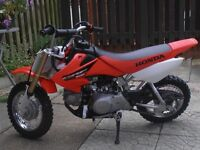 HONDA CRF 50 IN IMMACULATE CONDITION HARDLY USED FROM NEW