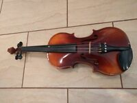 Full size Violin for sale with case etc vgc