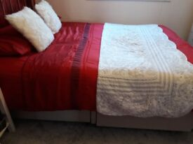 Quick sale king size bed. Pick up only. Good condition.