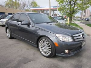2010 Mercedes-Benz C-Class C250 4MATIC *99KM* LEATHER AWD !!!AUT