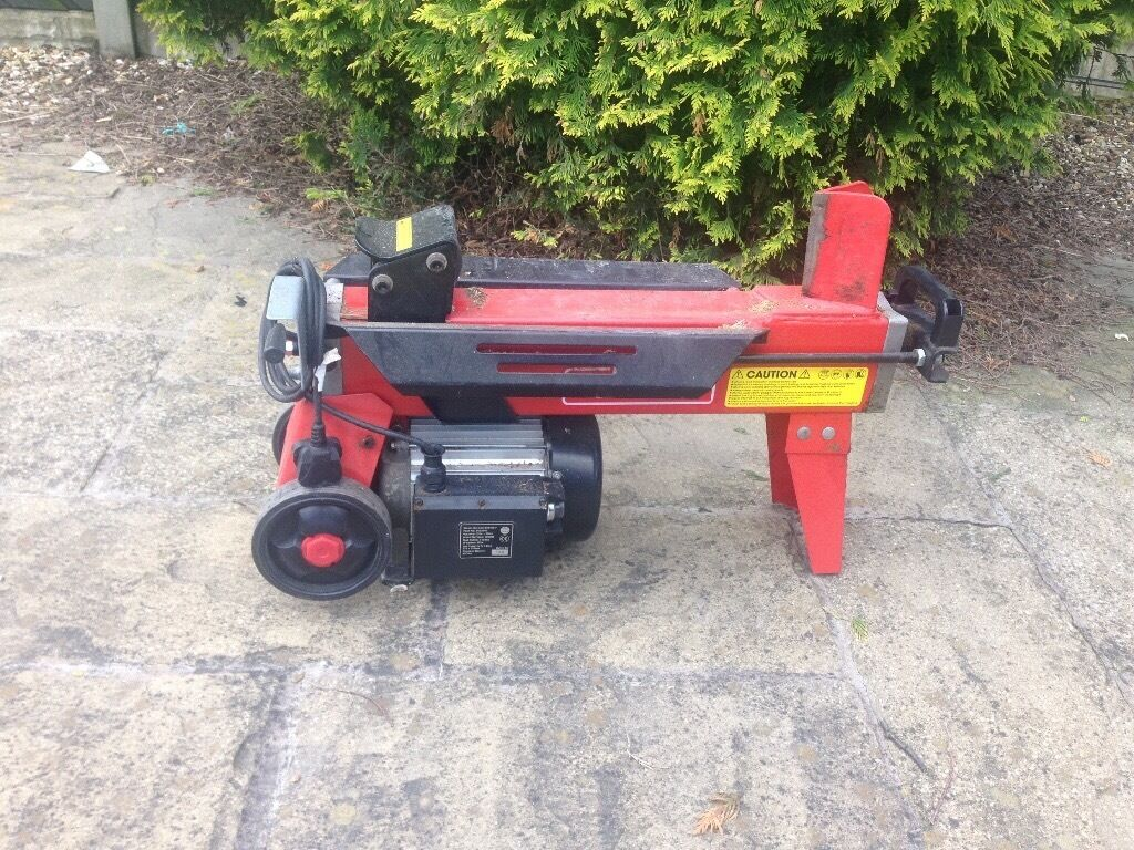 Clark 7 Tonne Log Splitter 163 110 Only One Year Old In