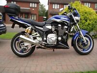 Yamaha XJR 1300 SP Blue, excellent condition, low mileage, well looked after bike