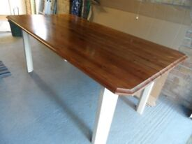 Dining Table - Pine/Buttermilk Shaker Style