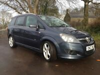 2010 Vauxhall Zafira SRI XPACK 7 SEATER Mot'd August 2018 Excellent Car throughout