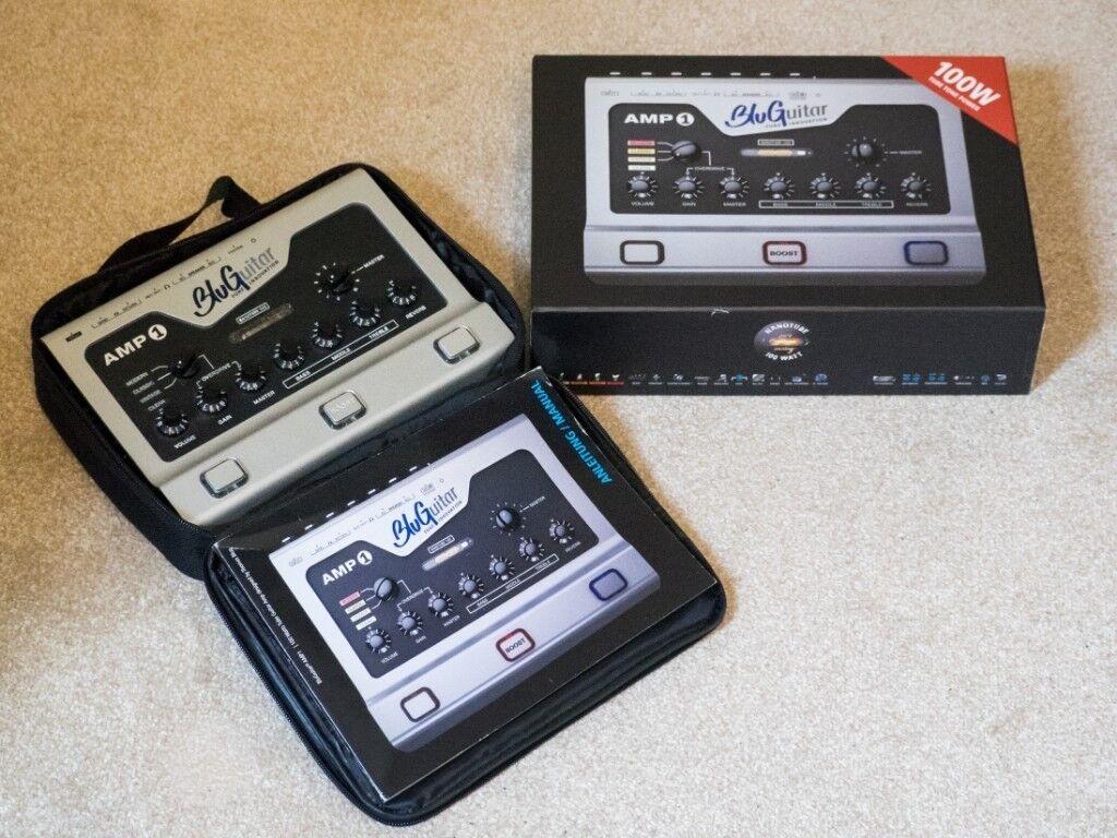 Blu Guitar Amp1 100 Watt NanoTube Guitar Amplifier (Inc  Case, Manual,  power lead and original box) | in Newport | Gumtree