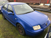 1999 VW Bora - SPARES OR REPAIRS, Ideal for parts for BOLF / GORA / GOLF / BORA front end conversion