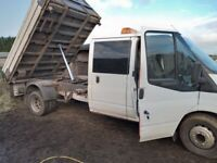 TRANSIT 3 WAY TIPPER TRUCK