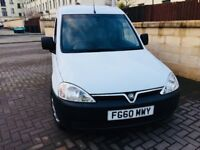 VAUXHALL COMBO 1.7 CDTI 2010 1 OWNER SUPERB CONDITION MOT 9 MONTHS FSH