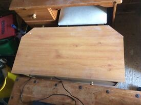 3 draw desk and stool