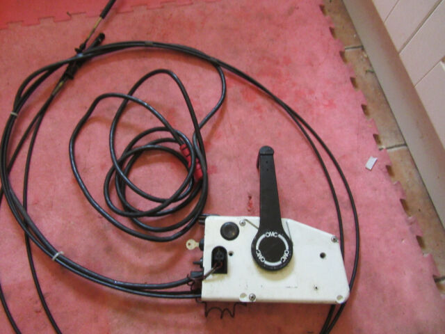 REMOTE CONTROL BOAX JOHNSON EVINRUDE OUTBOARD ENGINE ELECTRIC START LOOM  CABLES BOAT   in Norwich, Norfolk   Gumtree
