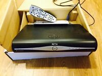 Sky Plus HD 3D Ready Slimline Box with manual, packaging, remote & leads Excellent Condition