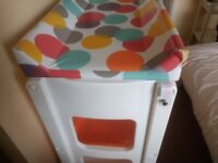 Cosatto baby changing table