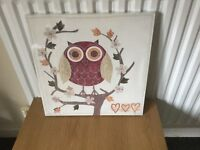 Owl Picture Brand new