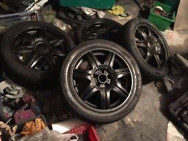 "5x100 Seat Ibiza alloy wheels 16"" ronals Fabia / Polo / Civic / Golf"