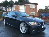 2009 BMW 320D M SPORT COUPE ** FULL HEATED LEATHER ** CREDIT / DEBIT CARDS ACCEPTED