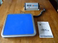 Commercial kitchen digital weighing scales