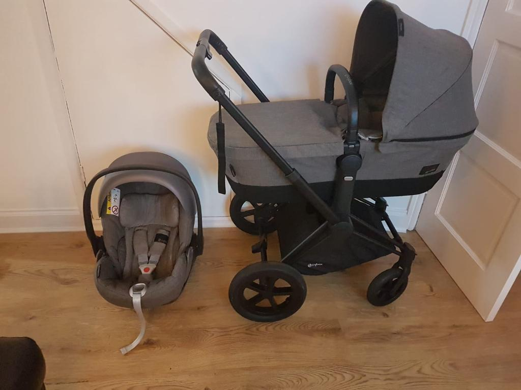 Cybex Priam 2 In 1 Manhattan Grey With Cybex Cloud Q Car Seat Extras In Great Sutton Cheshire Gumtree