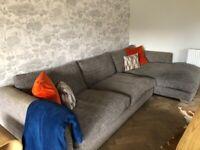 Grey barker and stone corner suite