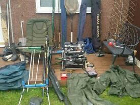 Fishing gear complete setup