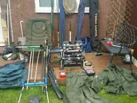 Fishing gear complete setup