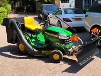 "John Deere X145 Ride on mower - 42"" deck - lawnmower - Honda / Stiga"