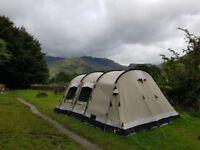 Outwell Montana Lake 6 person Polycotton tent